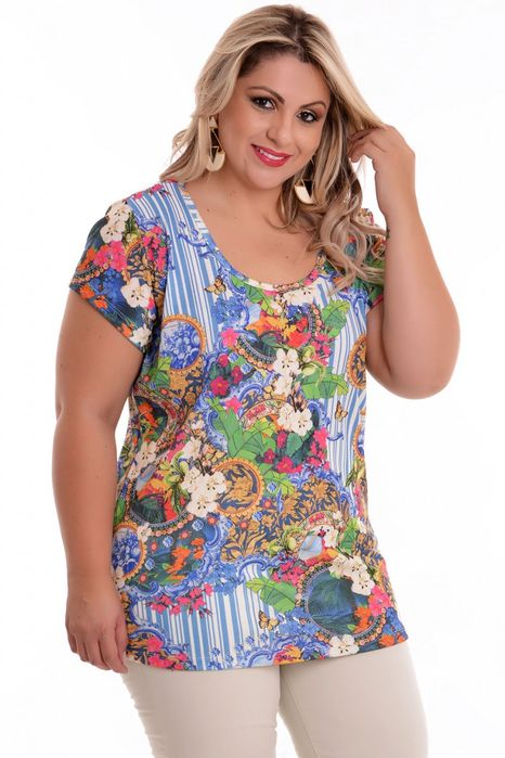 Blusa Plus Size Felícia