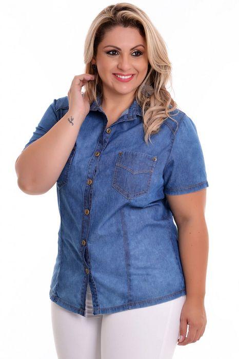 Camisa Plus Size Karla