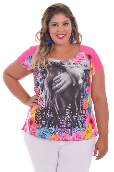 Blusa Realist Pink Two
