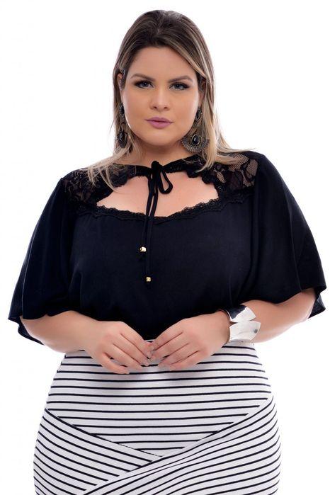 Blusa Plus Size Mandity