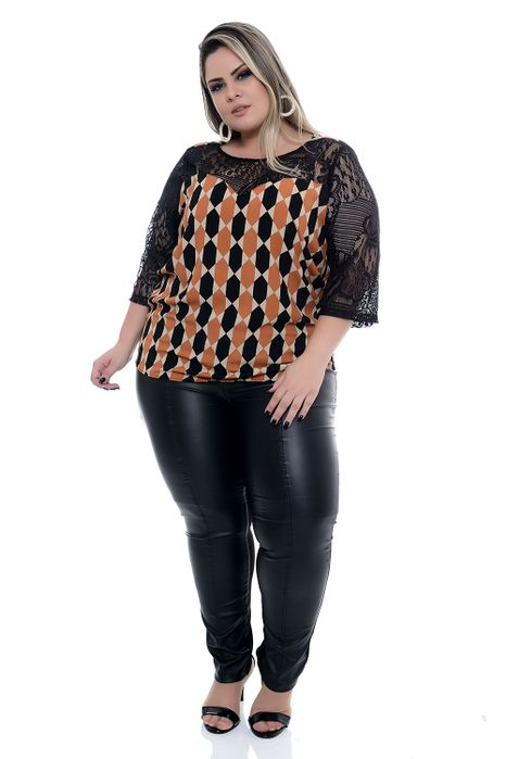 Blusa Plus Size Realy