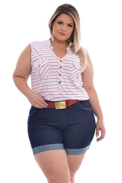 Short Plus Size Meia Coxa Anitta