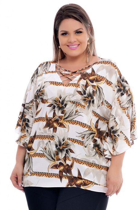 Blusa Plus Size Sofy