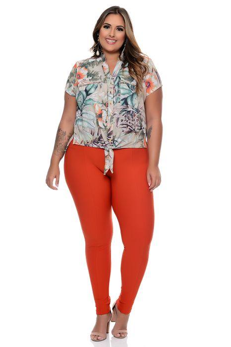 Camisa Plus Size Kate Print
