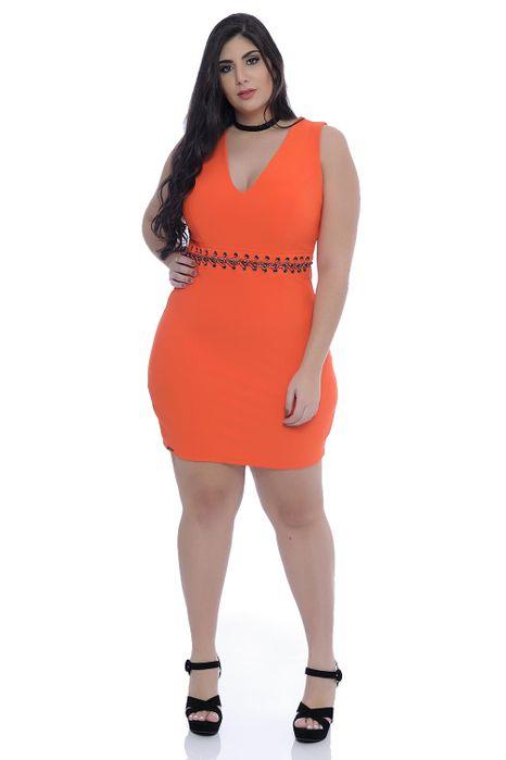 Vestido Plus Size Dama Power