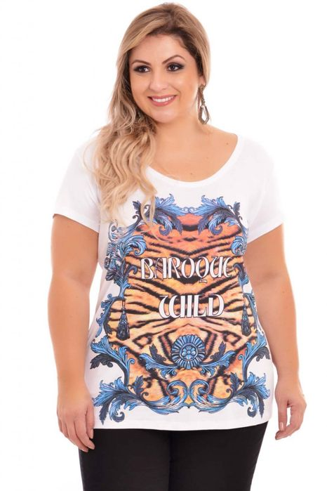 Blusa Steffans Plus Size