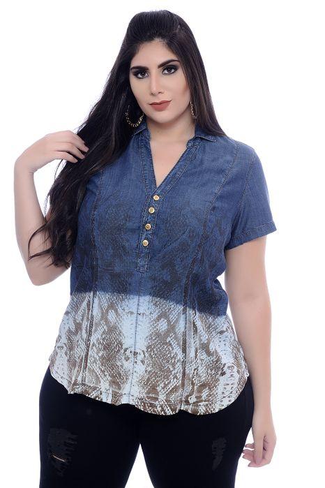 Camisa Plus Size Lella