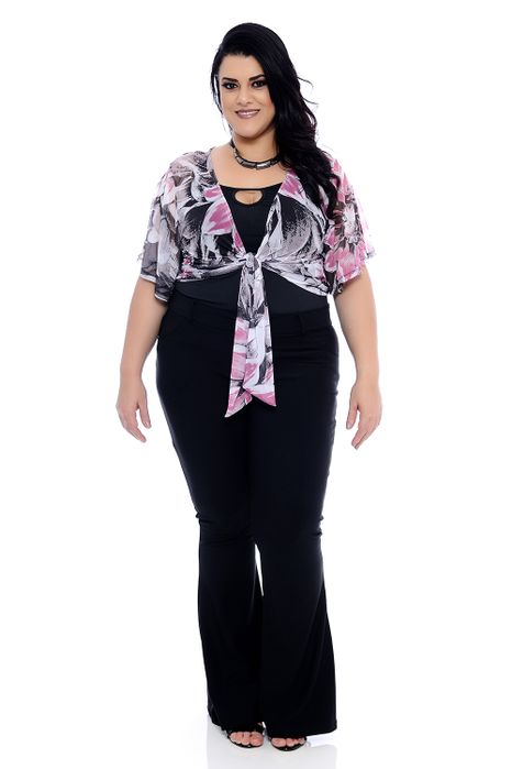 Blusa Plus Size Bandy