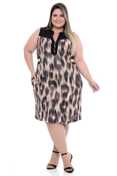 Vestido Plus Size Rennar