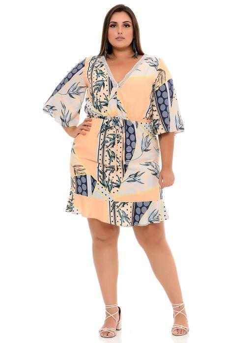 Vestido Plus Size Join Curves