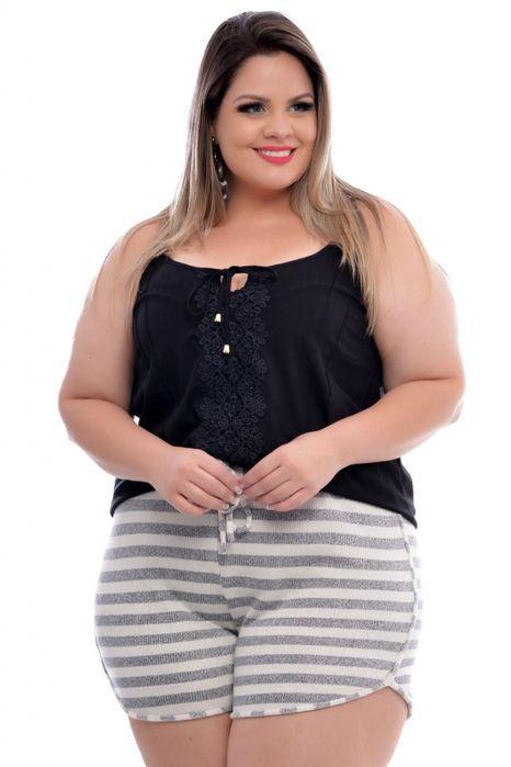 Short Plus Size Boxer Mari