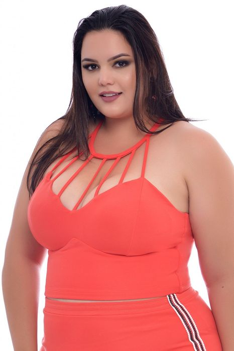 Cropped Plus Size Strappy