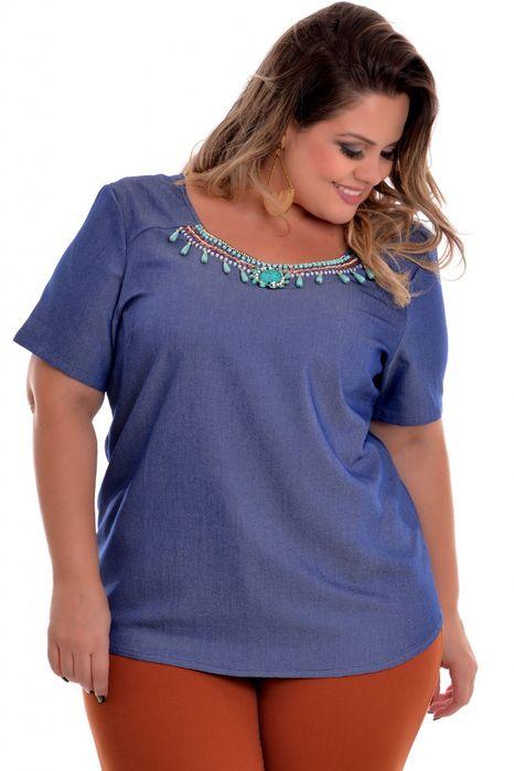 Blusa Plus Size Irene